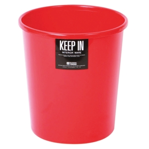 KEEP IN LITTER BIN 22X27.3CENTIMETERS 8 LITRES - RED