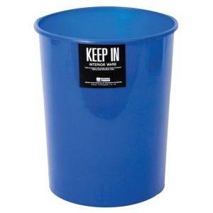 KEEP IN ถังขยะ ขนาด 20.5X22ซม. ความจุ 5 ลิตร น้ำเงิน