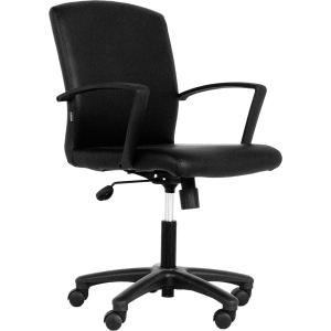 ACURA ALTIS OFFICE CHAIR PVC BLACK