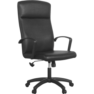 ACURA เก้าอี้ผู้บริหาร ALTIS/H หนังเทียม ดำ