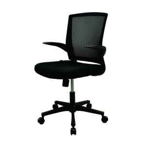 ZINGULAR FAY STAFF ZR-1012 OFFICE CHAIR BLACK
