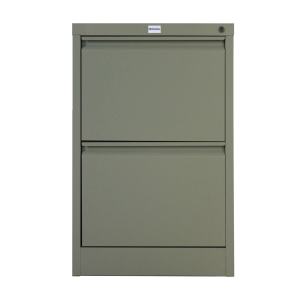 METALPRO MET-F02 STEEL FILING CABINET 2 DRAWERS