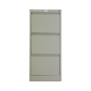 METALPRO MET-F03 STEEL FILING CABINET 3 DRAWERS
