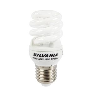 SYLVANIA หลอดประหยัดไฟ 865 MINILYNX MINI SPIRAL 15 วัตต์  ขาว
