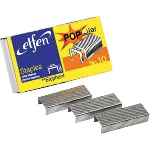 ELFEN 10-1M STAPLES - BOX OF 1,000