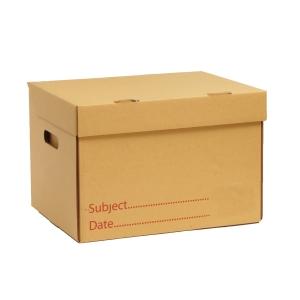 กล่องกระดาษเก็บเอกสาร KA185/185 32X40X27 เซนติเมตร แพ็ค 2 กล่อง
