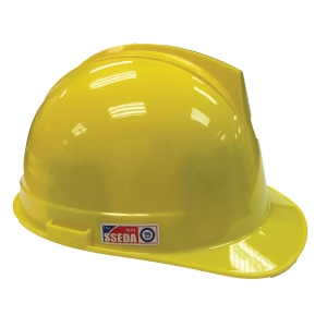 SSEDA SAFETY HELMET TURN YELLOW