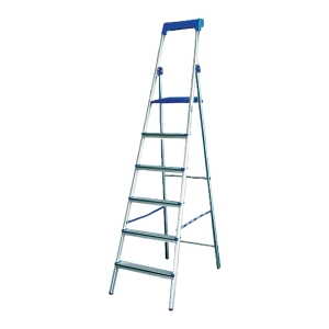 LD-HT16 TWO WAYS STEP LADDER 6 STEPS