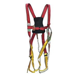 SSEDA FULL BODY SAFETY HARNESS AND LANYARD SET