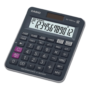 CASIO MJ-120D DESKTOP CALCULATOR 12 DIGITS