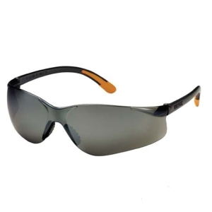 KING S KY214 POLYCARBONATE SAFETY GLASSES BLACK MIRROR