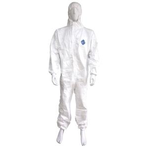 DUPONT ชุดป้องกันสารเคมี TYVEX1422A L ขาว