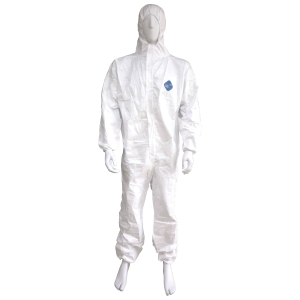 DUPONT ชุดป้องกันสารเคมี TYVEX1422A XL ขาว