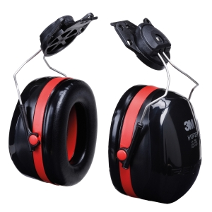 3M ที่ครอบหูลดเสียง รุ่น H10P3E ชนิดประกอบหมวกนิรภัย