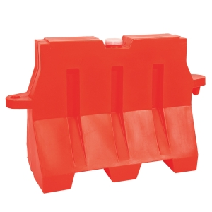 PLASTIC TRAFFIC BARRIER 150X45X55 ORANGE