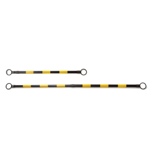 BARRICADE 120-200 CENTIMETRES BLACK/YELLOW