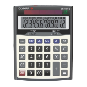 OLYMPIA DT-2000VII DESKTOP CALCULATOR 12 DIGITS