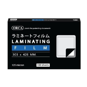 ORCA LAMINATING POUCH A3 303X426MM 125 MI - PACK OF 100