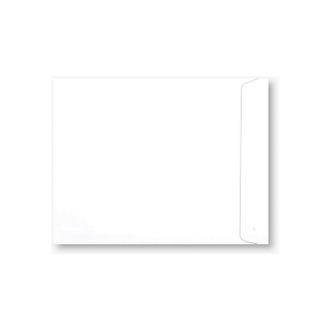 ENVELOPE OPEN-END 100GRAM SIZE 10  X 13  WHITE - PACK OF 500