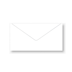 NUMBER 7/125 ENVELOPE BARONIAL 100GRAM SIZE 4.1/4 X6.3/8  WHITE - PACK OF 500