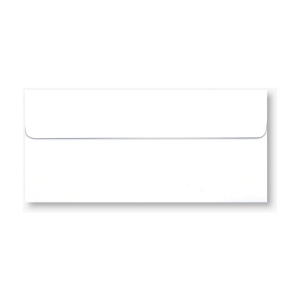NUMBER 9/125 ENVELOPE BOOKLET 100GRAM SIZE 4.1/4 X9.1/4  WHITE - PACK OF 500