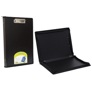 BINDERMAX แฟ้มกระเป๋าชนิดซิป 01319 A4 คละสี