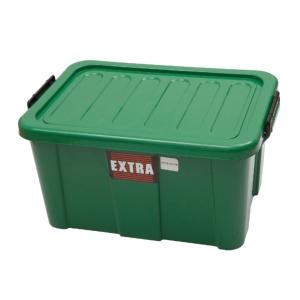 PLASTIC STORAGE BOX Q-BOX 90 40x50x42 CM. ASSORTED COLORS