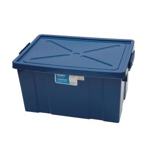 กล่องพลาสติกอเนกประสงค์แบบมีฝาปิด 80L 47x66x34 ซม. คละสี