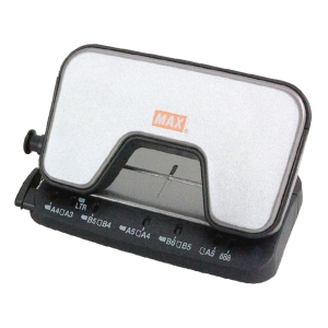 MAX DP-15T2- HOLE PAPER PUNCH GREY