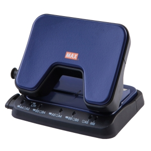 MAX DP-25T 2-HOLE PAPER PUNCH BLUE