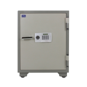 VITAL VT-100D FIRE RESISTANT SECURITY SAFE GREY