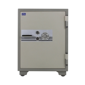 VITAL VT-100SKK FIRE RESISTANT SECURITY SAFE GREY