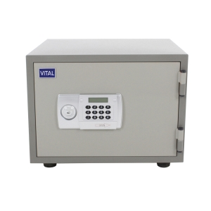 VITAL VT-21D FIRE RESISTANT SECURITY SAFE GREY