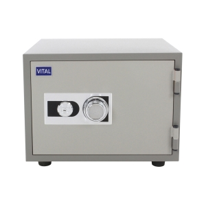 VITAL VT-21S FIRE RESISTANT SECURITY SAFE GREY