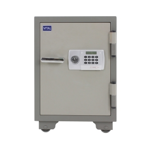 VITAL VT-42D FIRE RESISTANT SECURITY SAFE GREY