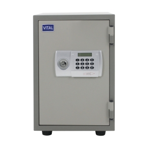 VITAL VT-T21D FIRE RESISTANT SECURITY SAFE GREY