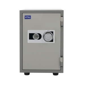 VITAL VT-T21S FIRE RESISTANT SECURITY SAFE GREY