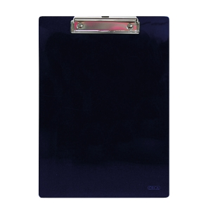 ORCA PLASTIC CLIPBOARD PP F4 NAVY BLUE