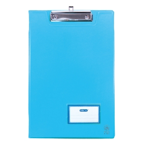 ORCA A-100 2-SIDED CLIPBOARD PVC A4 LIGHT BLUE