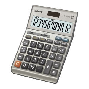 CASIO DF-120BM DESKTOP CALCULATOR 12 DIGITS