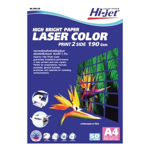 HI-JET COLOR LASER MATT PAPER A4 190G - PACK OF 50