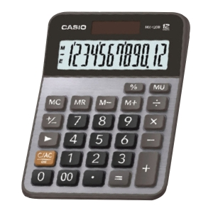 CASIO MX-120B DESKTOP CALCULATOR 12 DIGITS