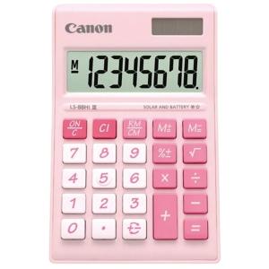 CANON LS-88HI III DESKTOP CALC 8 DITGITS PINK