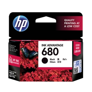HP 680 F6V27AA ORIGINAL INKJET CARTRIDGE BLACK