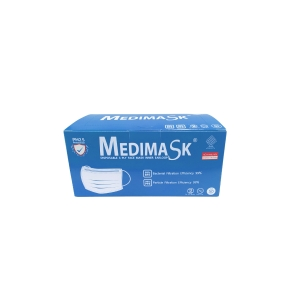 MEDIMASK FACE MASK 3 PLY BLUE PACK OF 50
