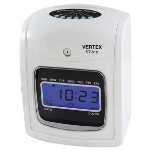 VERTEX ST-810 DIGITAL TIME RECORDER