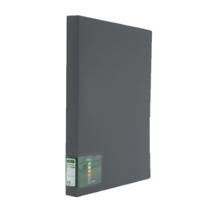 ORCA DT-201 DISPLAY BOOK NON-REFILLABLE A4 20 POCKETS BLACK