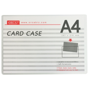 ORCA CARD CASE PVC A4