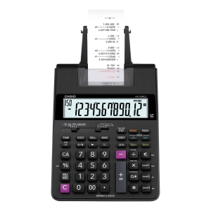CASIO HR-150RC-AD DESKTOP PRINTER CALCULATOR 12 DIGITS