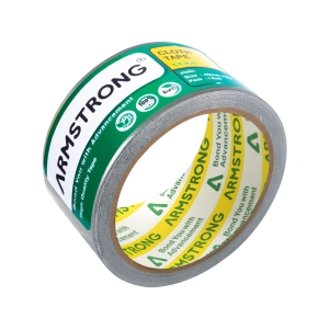 ARMSTRONG CLOTH TAPE 2   X 8 YARDS 3   CORE SILVER